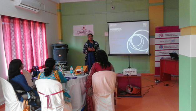British Council Workshop at Swarnim