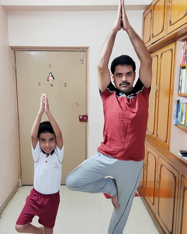 Father�s Day and International Day of Yoga (Primary).10