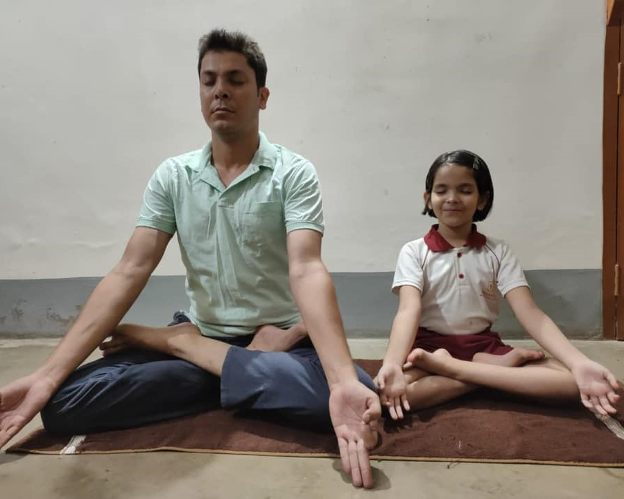 Father�s Day and International Day of Yoga (Primary).14