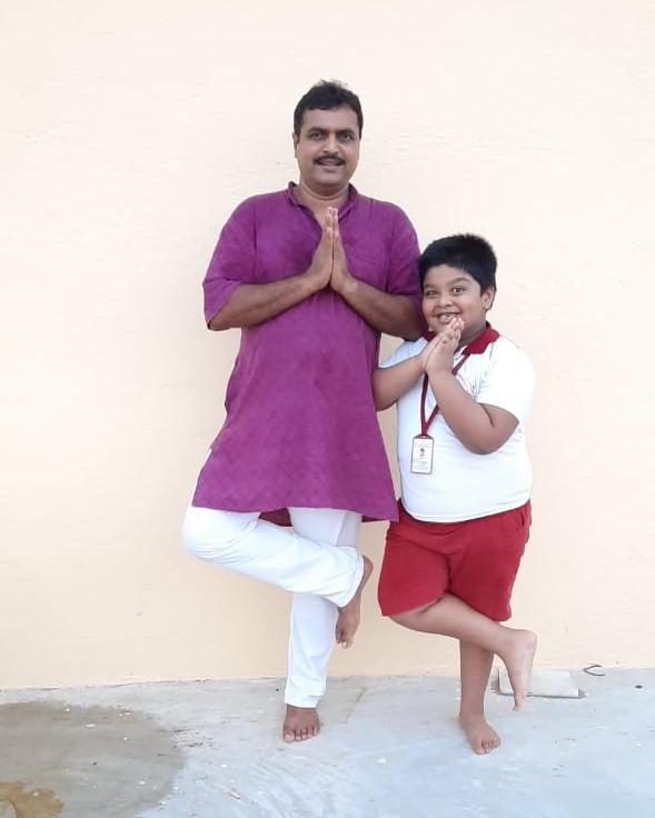 Father�s Day and International Day of Yoga (Primary).19