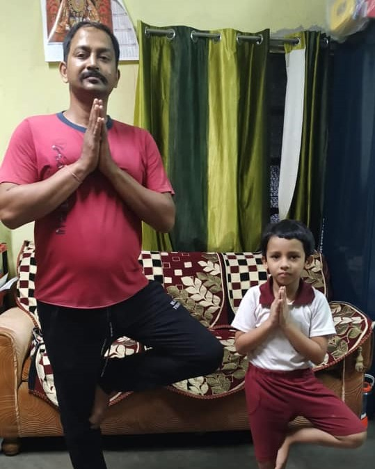 Father�s Day and International Day of Yoga (Primary).9
