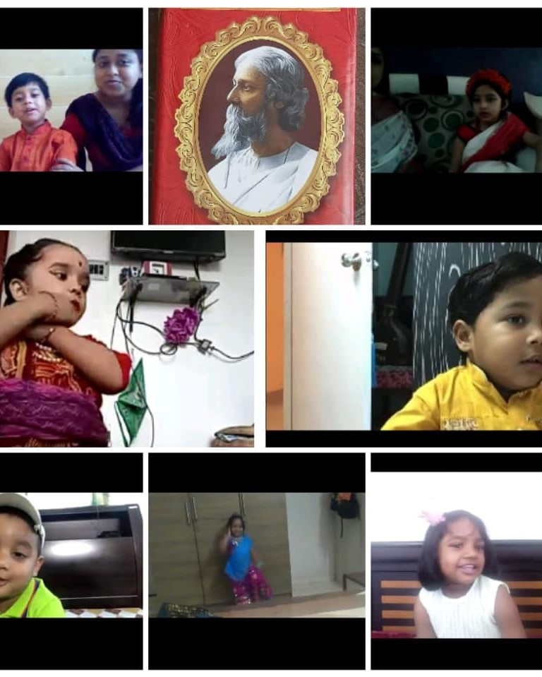 Rabindra Jayanti  + Mother�s Day.8