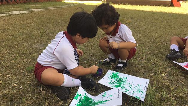 Students celebrated Outdoor Classroom Day