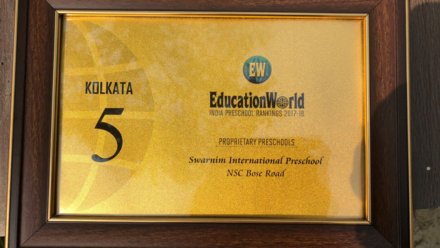 Ranked in the top 5 preschools in kolkata