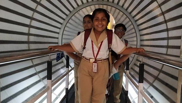 A WRITE-UP ON VISIT TO THE SCIENCE CITY