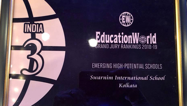 RANKED IN THE TOP 3 EMERGING SCHOOLS IN INDIA