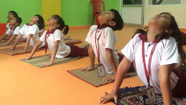 SWARNIM CELEBRATES THE WORLD YOGA DAY